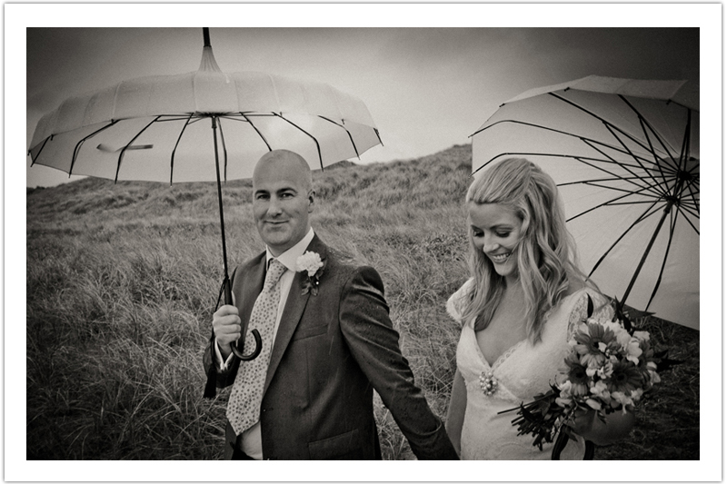 Wet, Rainy Day Wedding