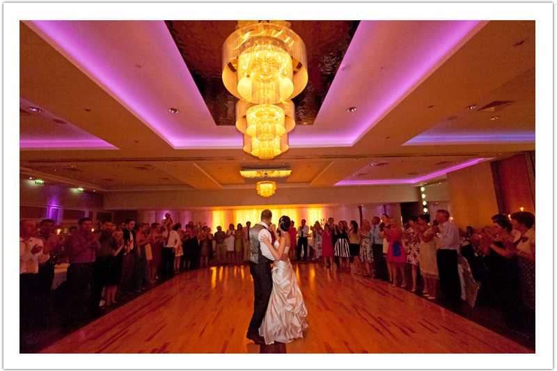Romantic and gorgeous wedding first dance