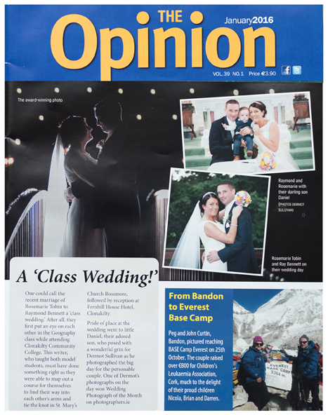 Cork Wedding Photographer, Cork Wedding Photography, Award Winning Wedding Photography, West Cork Wedding Photography, West Cork Wedding Photographer, Cork Wedding Photo, Clonakilty Wedding Photographer, Bandon Opinion, The Opinion,