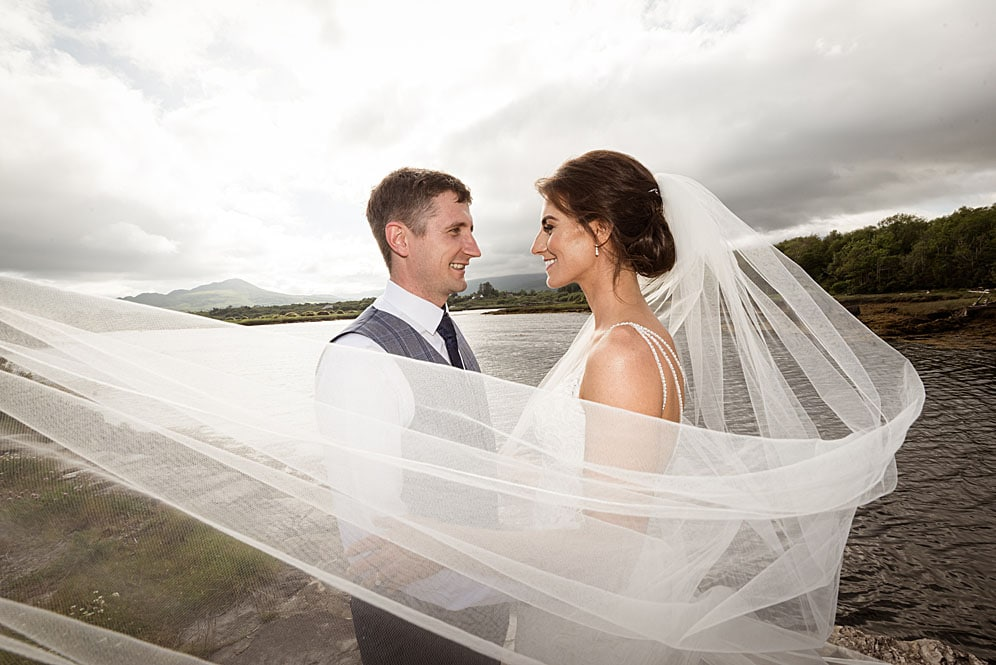 Sneem Hotel Wedding Photographs