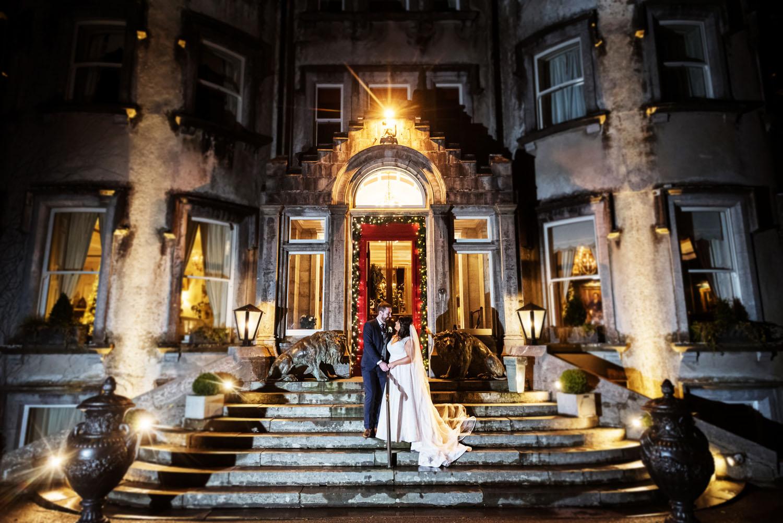 Ballyseede Castle Christmas Wedding