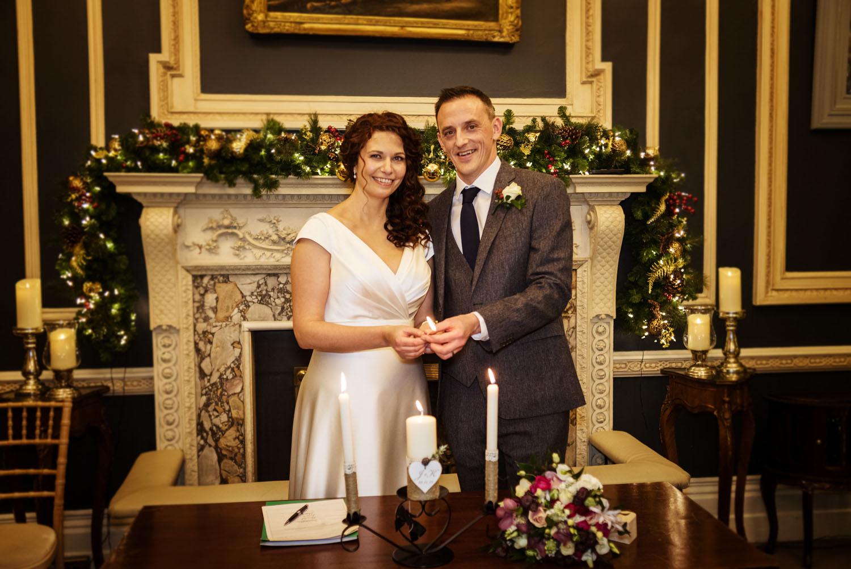 Stephens Green Club Winter Wedding