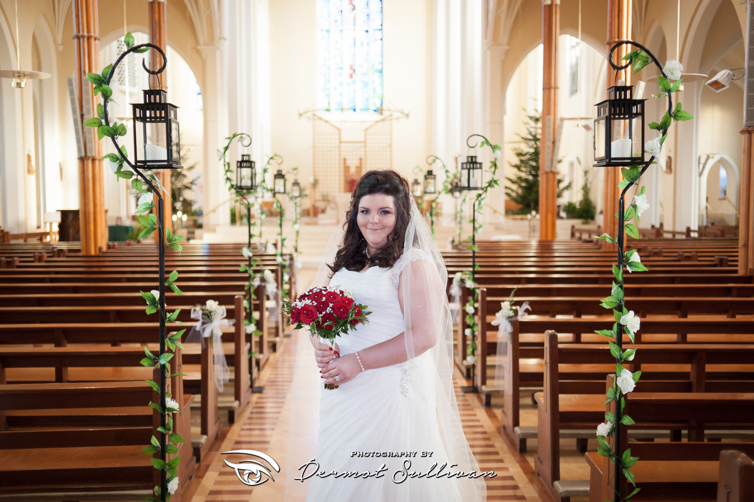 North Cathedral Cork Christmas Wedding Photographs