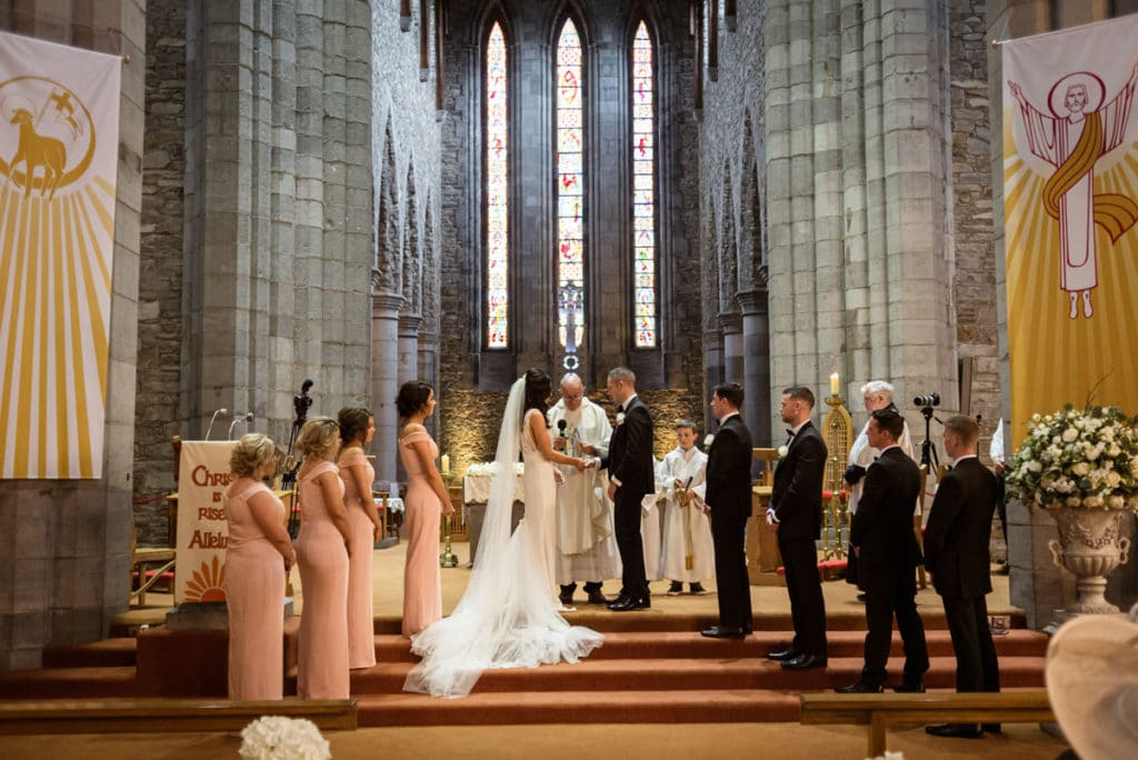 Killarney Cathedral Wedding