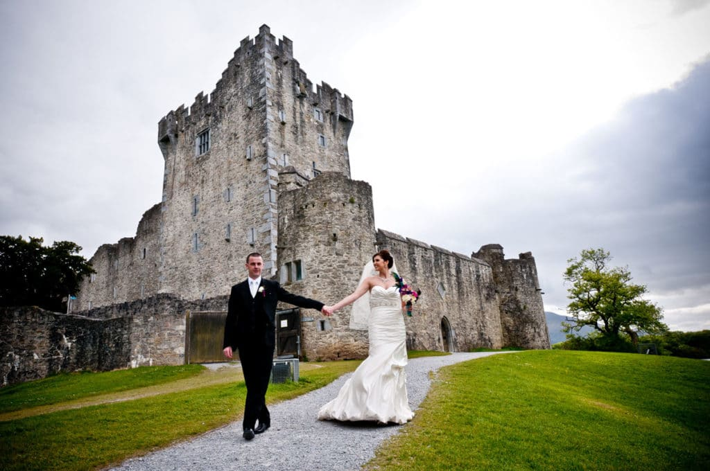 Ross Castle Killarney is one of the Top Kerry Wedding Photograph locations